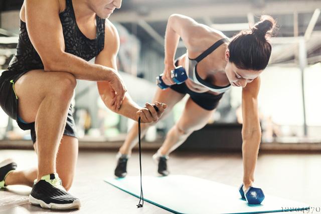 informativ, der Fitness Hantel Test